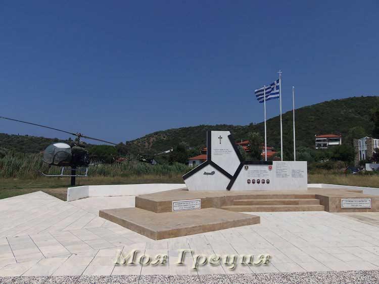 Памятник жертвам катастрофы Синука