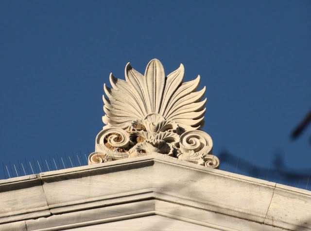 Греческий орнамент пальметта