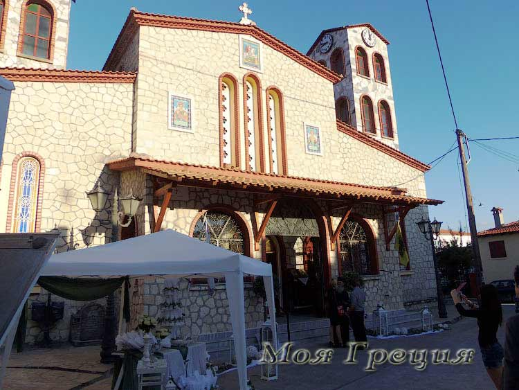 Храм Св.Георгия, Агиос Николаос Халкидики