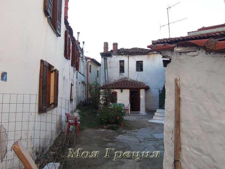 Агиос Николаос, старые дома