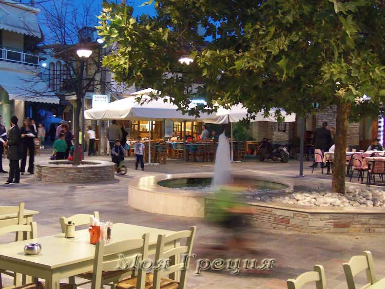 Таверны на площади Агиос Николаос