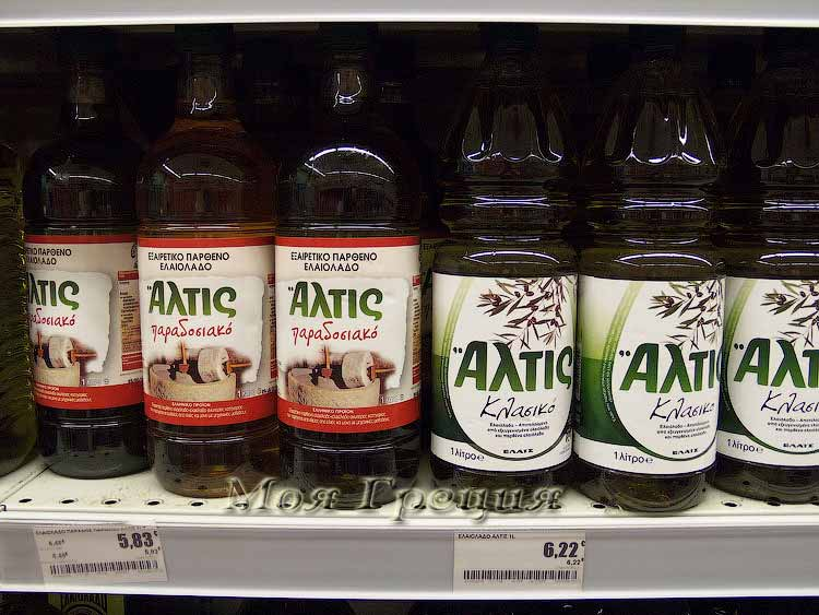 Оливковое масло Алтис