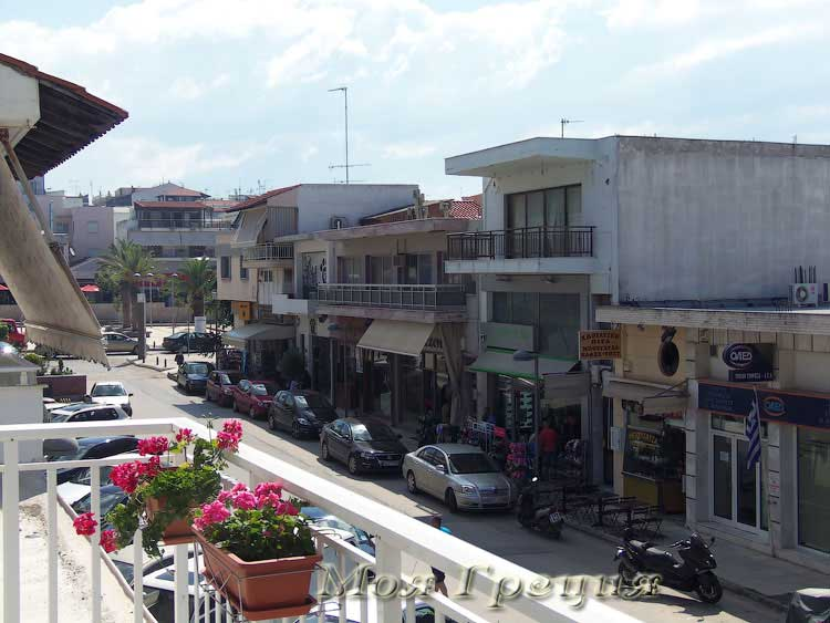 Улица в Неа Муданья