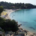 Пляжи Ситонии: Акти Ковью и Агия Кирьяки
