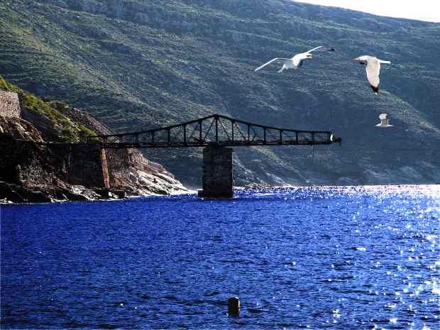 Остров Серифос - старые рудники