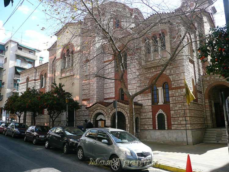 Афины в феврале
