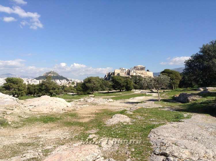 Акрополь — средоточие всего в Афинах