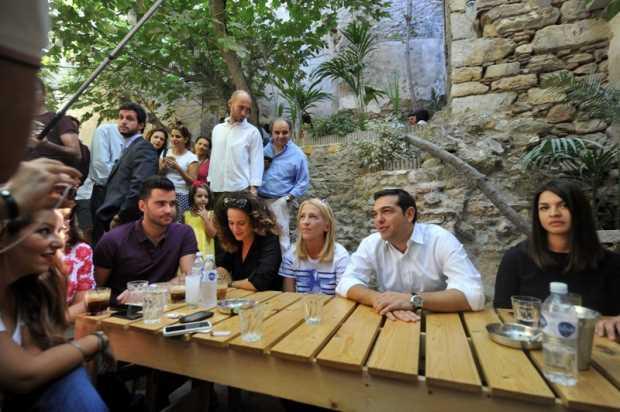 Алексис Ципрас перед выборами