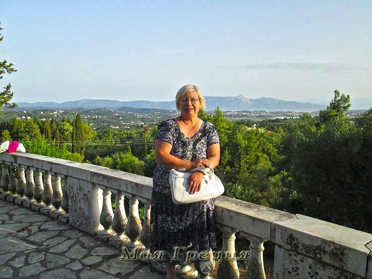 Греческие каникулы Валентины Страховой