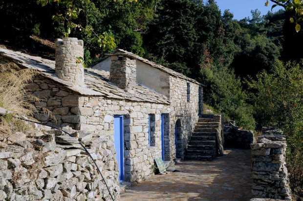 Дом, где жил Микис Теодоракис, Икария