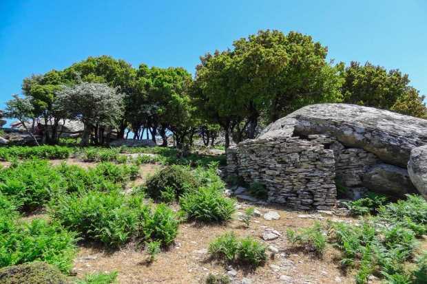 Древняя архитектура Икарии