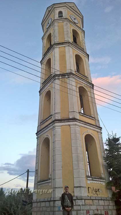 Колокольня в Касторье