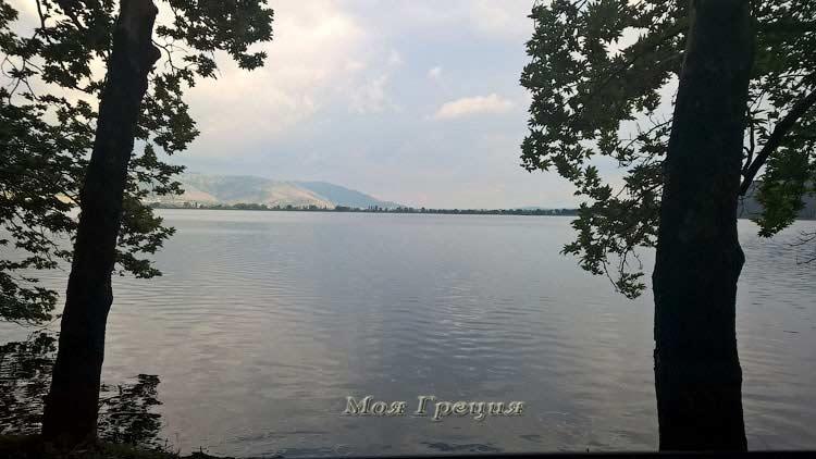 Озеро в Касторие