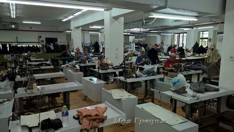 На фабрике Пападопулоса
