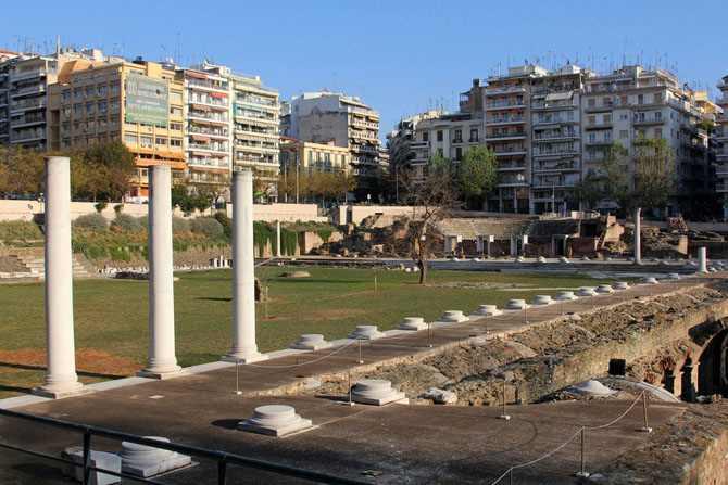 Римская Агора, Салоники