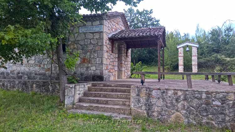 Храм Св. Троицы и Св. Прокопия, Полихроно