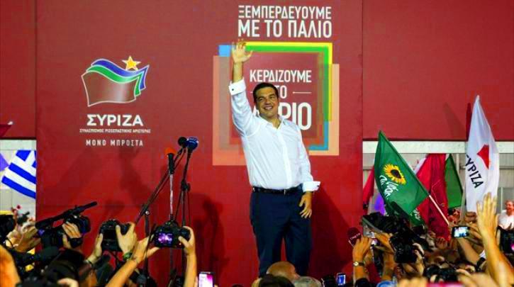 Выборы в Греции 2015 результаты сентября