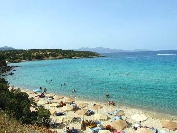 """Пляж """"Солнечный"""", Крит"""