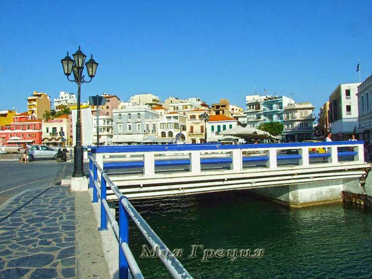 Агиос Николаос, мост
