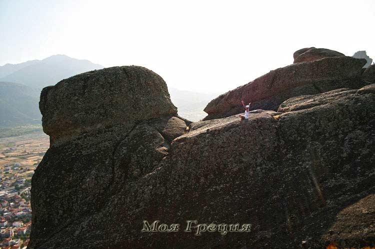 Медитация на скалах Метеор