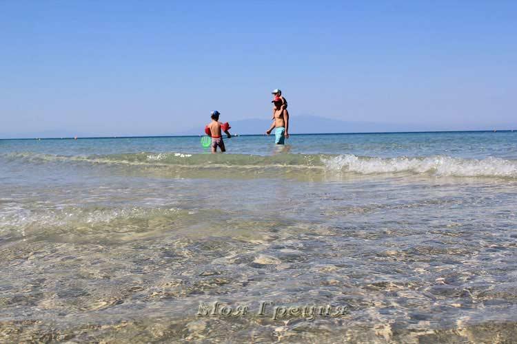 Пляж Sani, Халкидики