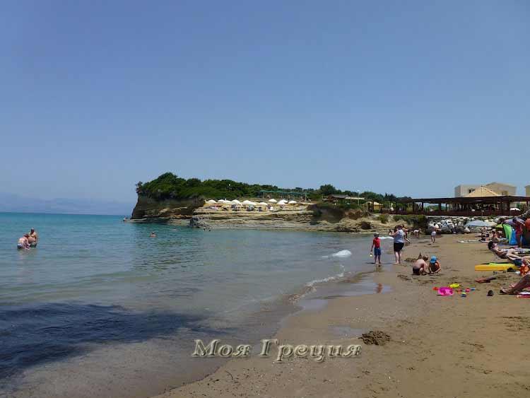 Пляж Сидари, Корфу