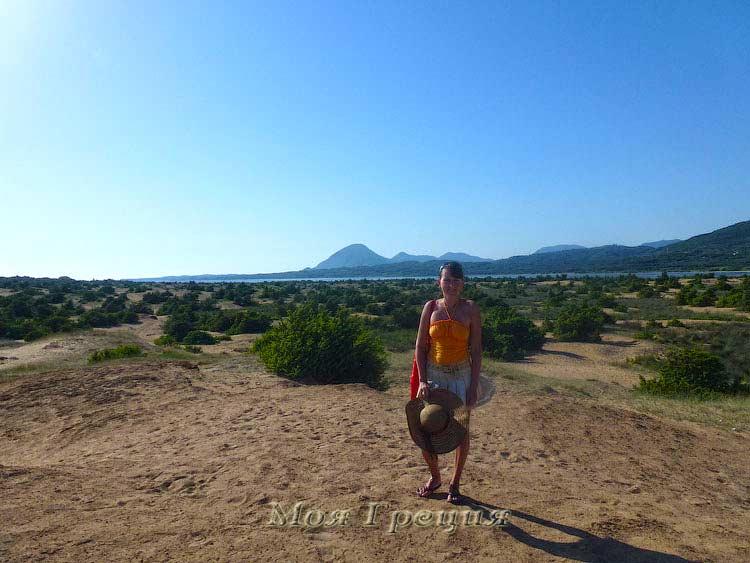 Вид на озеро Korrisia