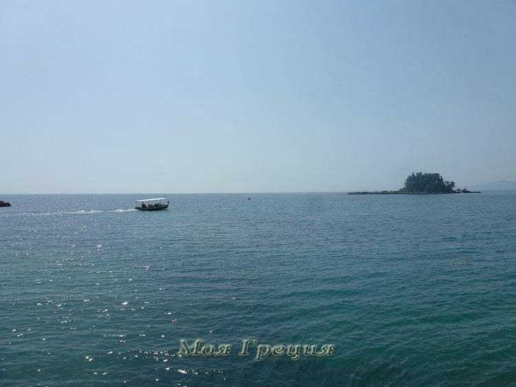 Понтикониси, Корфу