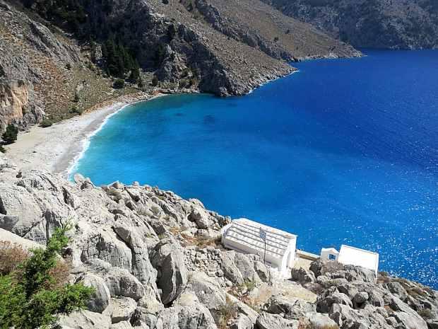 Пляж Айос Василиос, остров Сими Греция