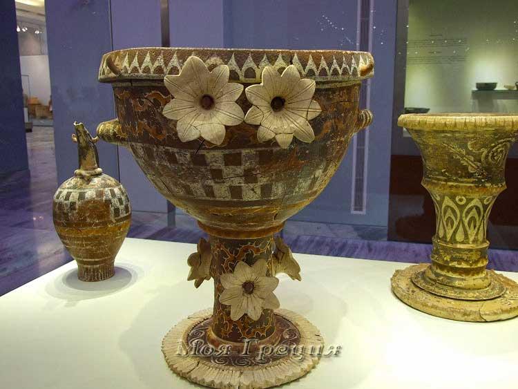 В археологическом музее Кносса