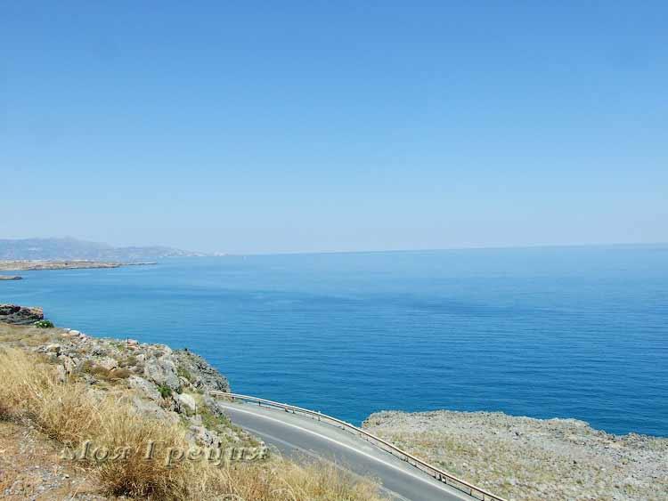 Дорога в Агиос Николаос