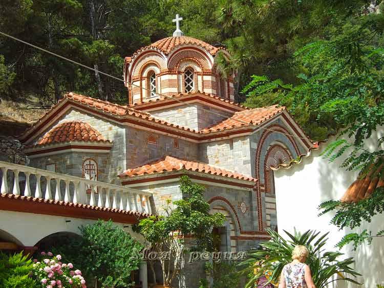 Монастырь Св. Георгия, Крит