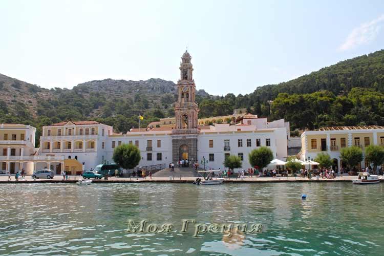 Монастырь и порт Панормитис, Сими