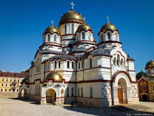 Собор Св. Пантелеймона, Абхазия, Новый Афон
