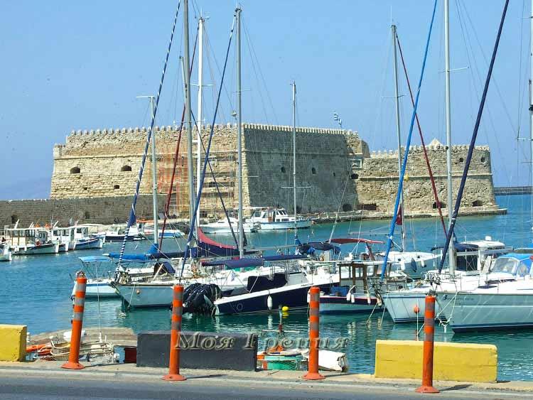 Ираклион, венецианская крепость