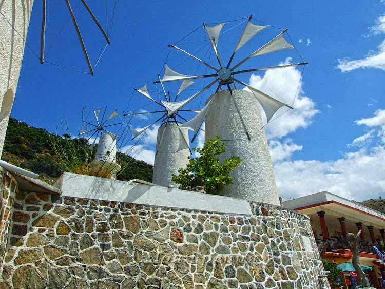Ветряки на Крите