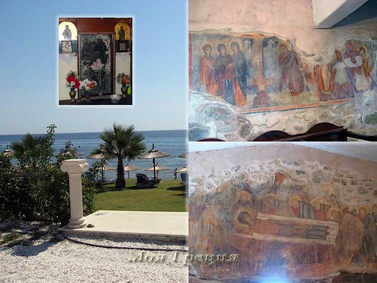 Фрески в храме Богоматери Явленной