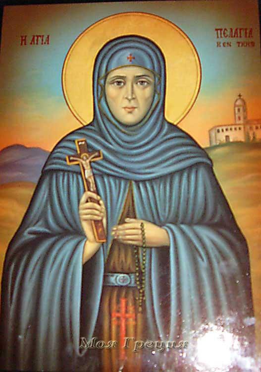 Икона Пелагии Антиохийской