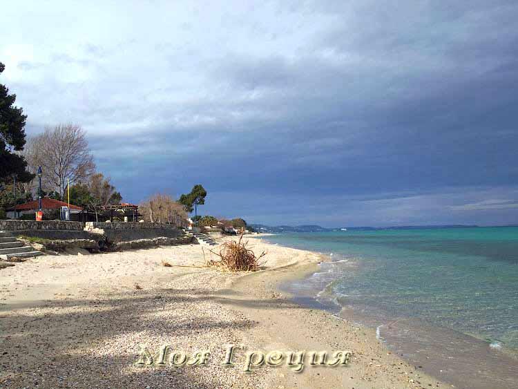 Отдых в Греции зимой