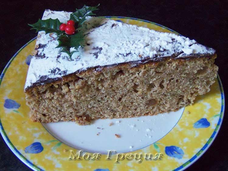 Василопита - новогодний пирог