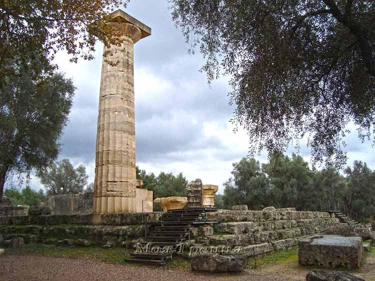 Древняя Олимпия Греция