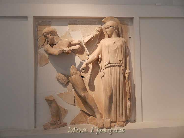 Подвиг Геракла, Древняя Олимпия