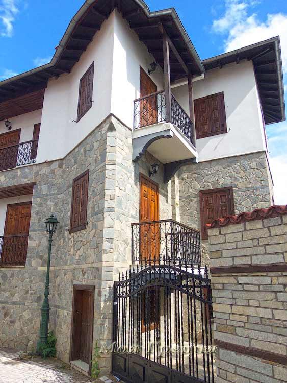 Новые дома строятся в том же стиле