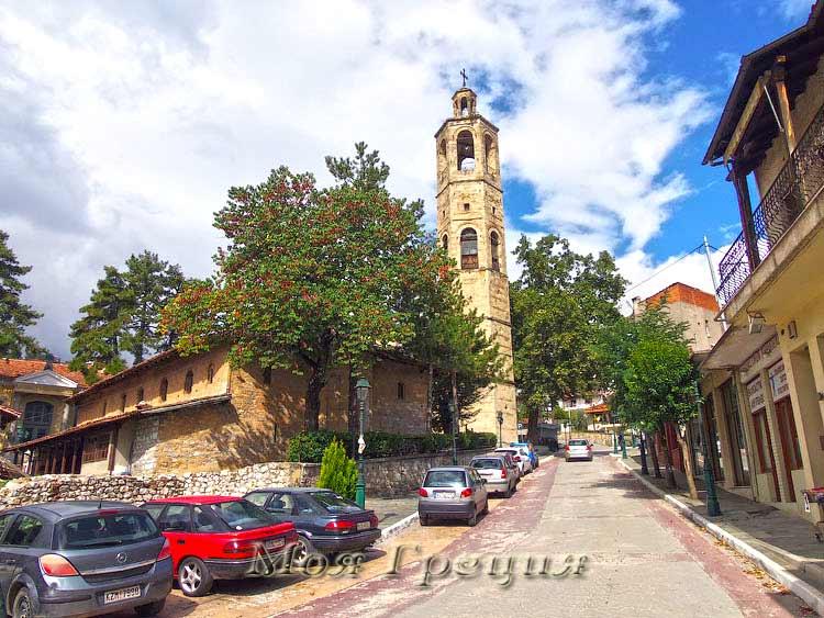 Город Сиатиста, Македония, Греция