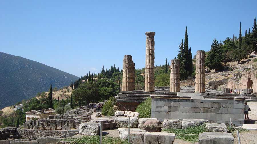 Древние Дельфы, Греция
