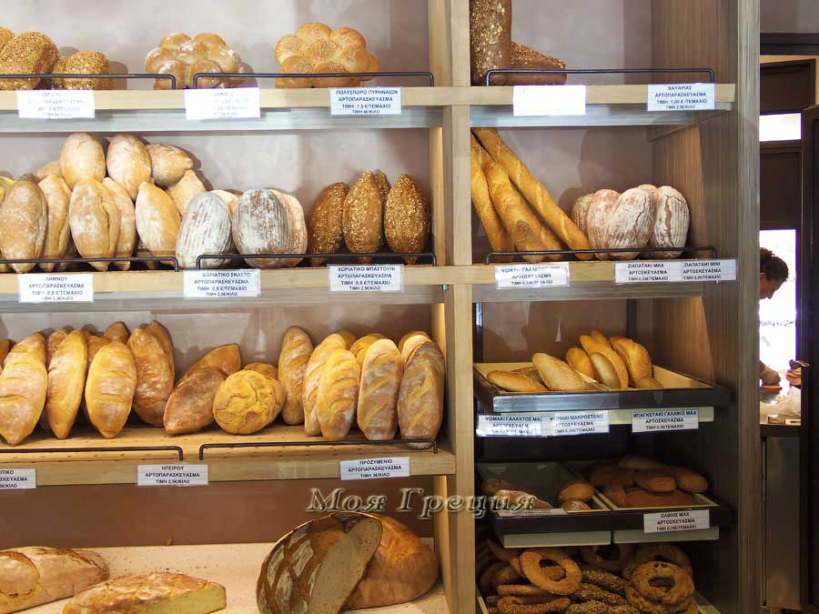 Вкусный греческий хлеб