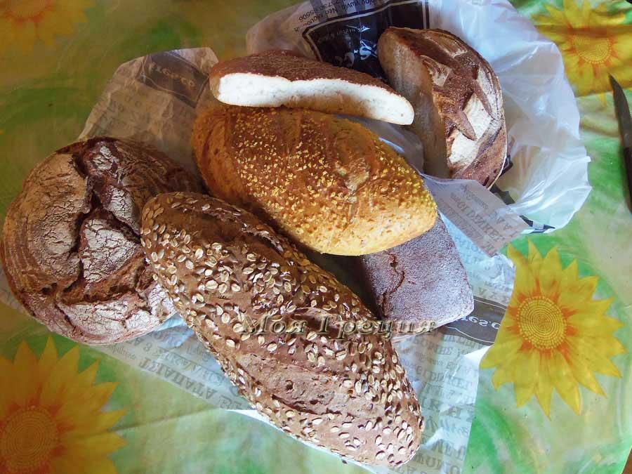 Какой хлеб продают в Греции