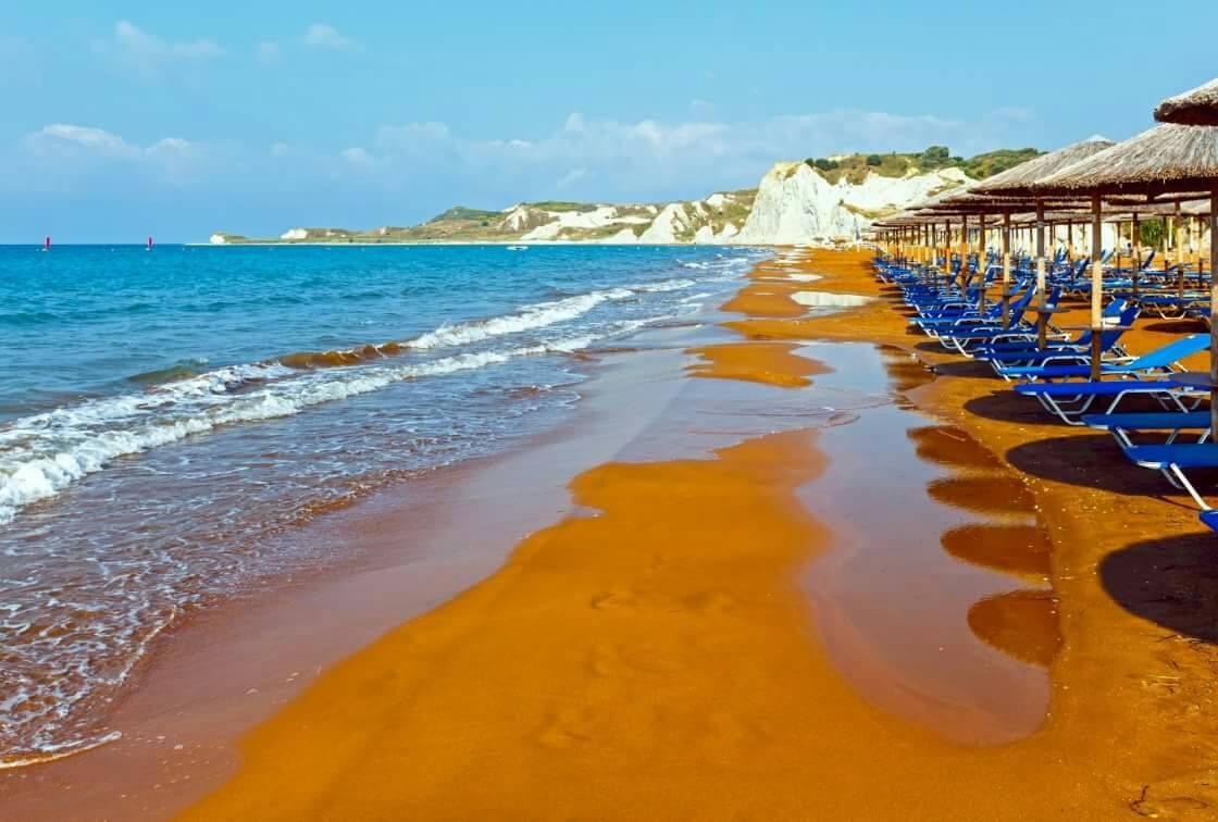 Пляж Кси, Кефалония