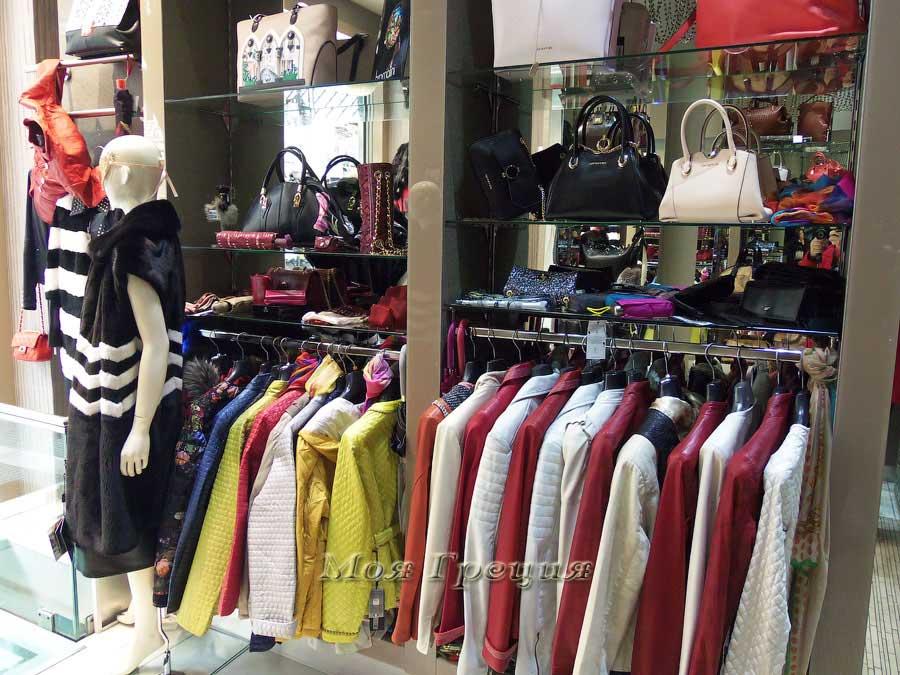 Куртки и пальто в бутике Самарас