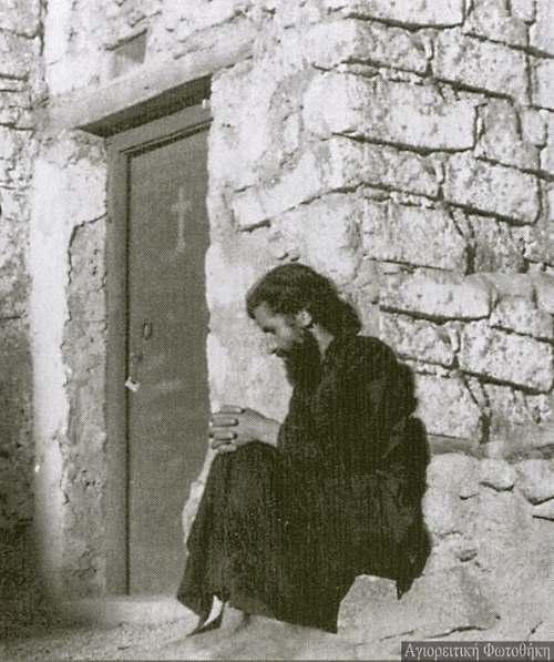 Святой Паисий Святогорец на Синае